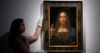 Le tableau le plus cher du monde, attribué à Léonard de Vinci, serait un faux