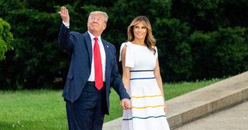 Donald et Melania Trump offrent leurs services pour animer votre anniversaire ou votre départ à la retraite