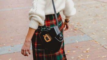 Comment porter la jupe tartan sans ressembler à un Écossais ou à une ado rebelle selon Pinterest ?