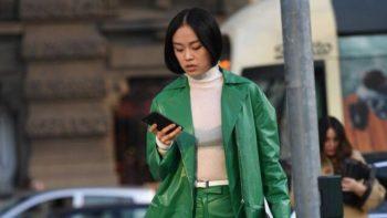 Couleur tendance 2022 : comment porter le vert alias la couleur la plus désirable de l'automne, selon Pinterest ?