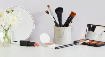 Quels accessoires choisir pour ranger son maquillage ?