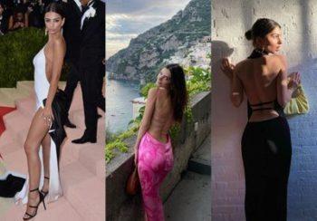 Emily Ratajkowski : toutes ces fois où elle a fait de la robe dos nu son uniforme