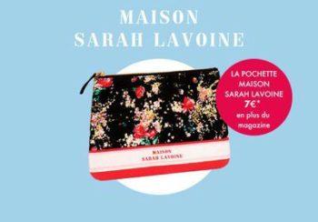 Avec votre ELLE cette semaine : la pochette Maison Sarah Lavoine en édition limitée
