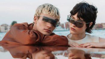 EVOLUTION, la collection de lunettes futuristes de Pierre Cardin au coeur d'une vidéo exclusive tournée à Venise