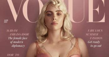 Blonde et sanglée dans un corset, Billie Eilish est métamorphosée en couverture du «Vogue» anglais