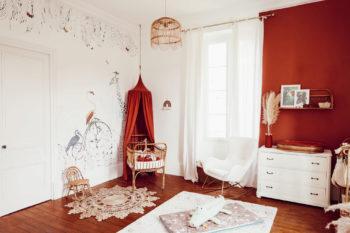 La future chambre de bébé