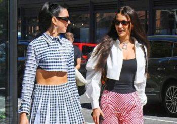 Dua Lipa et Bella Hadid, un duo mode au top pour l'anniversaire de la fille de Gigi