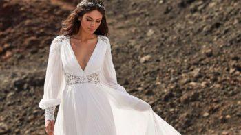 Robes de mariée bohème: ces modèles avec dentelle qui nous font rêver